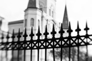 St Louis Cathedral Framed Prints - Catheral Basilica Framed Print by Scott Pellegrin
