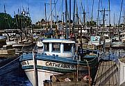  Harbor Paintings - Catherina G by James Robertson