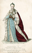 Catherine The Great Framed Prints - Catherine Ii (1729-1796) Framed Print by Granger
