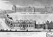 Catherine Framed Prints - Catherine Palace, 1761 Framed Print by Granger