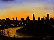 Jack Skinner Paintings - Catherines Sunrise by Jack Skinner