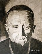 Catholic Cardinal Jozsef Mindszenty Print by Arline Wagner