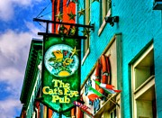 Fells Prints - Cats Eye Pub Print by Debbi Granruth