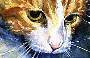 John Benson Paintings - Cats Eyes 12 by John D Benson