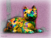 Pajamas Digital Art - Cats Pajamas by Gerry  Tetz