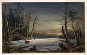 1839 Photos - Catskill Winter Scene, 1839 by Granger