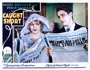 Lobbycard Prints - Caught Short, Anita Page, Charles Print by Everett