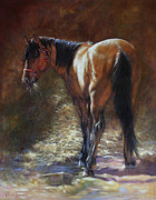 Bay Horse Originals - Caught With A Mouthful by Harvie Brown