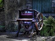 Sarita Rampersad Metal Prints - Caution Heavy Machinery Metal Print by Sarita Rampersad