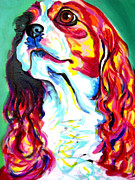 Alicia Vannoy Call Painting Framed Prints - Cavalier - Herald Framed Print by Alicia VanNoy Call