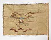 19th Century America Prints - CAVALRY FLAG, 19th CENTURY Print by Granger