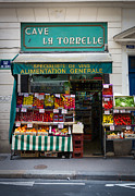 Groceries Photo Posters - Cave La Tonnelle Poster by Inge Johnsson