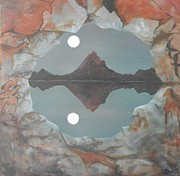 Cave Paintings - Cave Reflections by Lorraine Kilmer