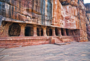 Karnataka Art - Cave Temple,  Badami, Karnataka by Mukul Banerjee Photography