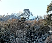 Christian Artwork Photos - Cavehill In The Snow by Patrick J Murphy