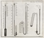 Transactions Framed Prints - Cavendish Thermometers, 18th Century Framed Print by Middle Temple Library