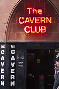 Cavern Club . Framed Prints - Cavern Club Framed Print by Andrew  Michael