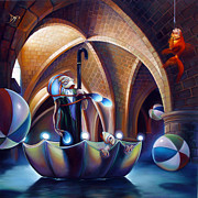 Umbrella Metal Prints - Caverna Magica Metal Print by Patrick Anthony Pierson
