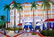 Vacations Pastels Prints - Cayo Levantado DR Print by Rae  Smith  PSC