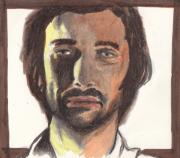 Icon  Drawings - Cazale by Jim Valentine