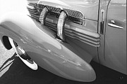 Kirkland Prints - Cd 812 1937 Exhaust Pipes  Print by Curt Johnson