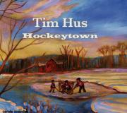 Pond Hockey Paintings - Cd Cover Commission Art by Carole Spandau