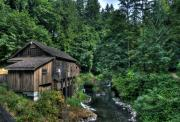 Granger Photography Photos - Cedar Creek Grist Mill by Brad Granger