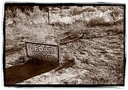 Cedar Pete Gravesite In Grafton Utah Print by Steve Gadomski