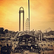 Featured Prints - #cedarpoint #ohio #ohiogram #amazing Print by Pete Michaud