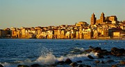 Town Photo Originals - Cefalu - Sicily by Sorin Ghencea