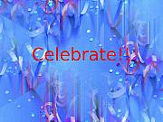 Confetti Prints - Celebrate 1 Print by Tim Allen