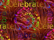 Special Occasion Digital Art Prints - Celebrate 2 Print by Tim Allen
