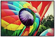 Balloon Fest Framed Prints - Celebrate America Balloon Fest 1 Framed Print by Jim Albritton