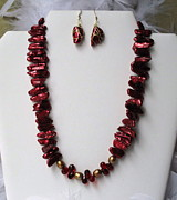 Holiday Jewelry - Celebration in Red by Pamela Poole