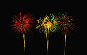 Fire Works Prints - Celebration Print by James Heckt