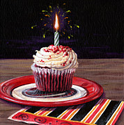 Lynette Cook Paintings - Celebration by Lynette Cook