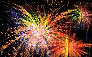 Fireworks Prints - Celebration Print by Richard Rizzo