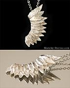 Animals Jewelry - Celestial Half by Nicholas Damario