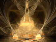 Religious Artist Digital Art - Celestial by R Thomas Brass