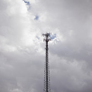 Cellular Framed Prints - Cell Phone Tower Framed Print by Paul Edmondson