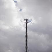Cell Phone Tower Print by Paul Edmondson