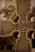 Celts Posters - Celtic Cross 1 Poster by Bernice Williams