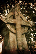 Celts Photo Posters - Celtic Cross 5 Poster by Bernice Williams
