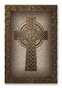 Religious Digital Art Prints - Celtic Cross Print by Ernestine Grindal