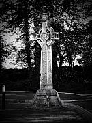 Irish Art - Celtic Cross in Killarney Ireland by Teresa Mucha