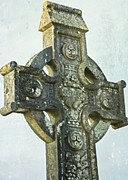 Julie Williams Metal Prints - Celtic Cross Metal Print by Julie Williams