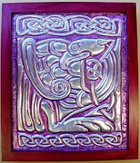 Latonagem Reliefs - Celtic Eagle by Cacaio Tavares