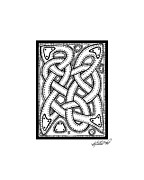 Border Drawings - Celtic Knotwork Illustrated by Kristen Fox