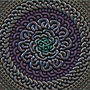 Knotwork Digital Art - Celtic Knotwork by Ryan Grant