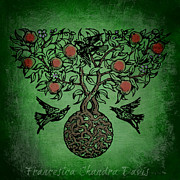 Goddess Prints - Celtic Tree Of Life Print by Sacred  Muse
